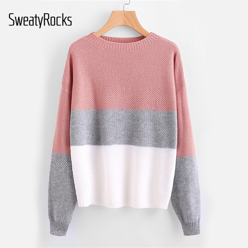 Long Sleeves Off The Shoulder Textured Knit Sweater Top