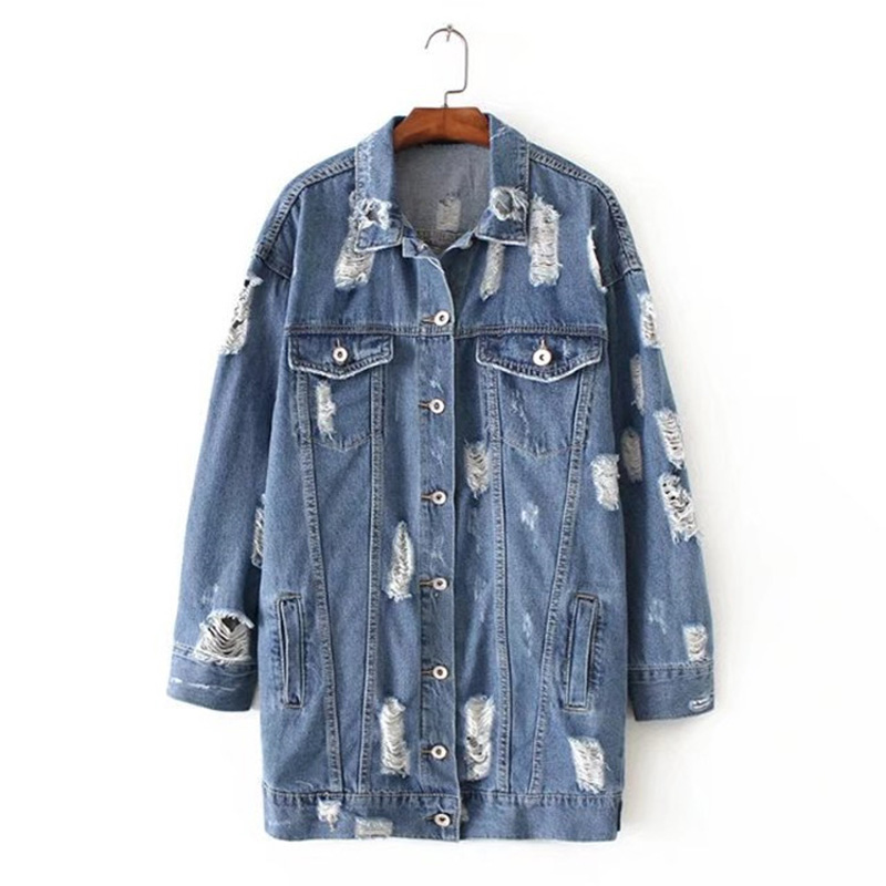 Compare Prices on Fitted Denim Jackets- Online Shopping/Buy Low ...