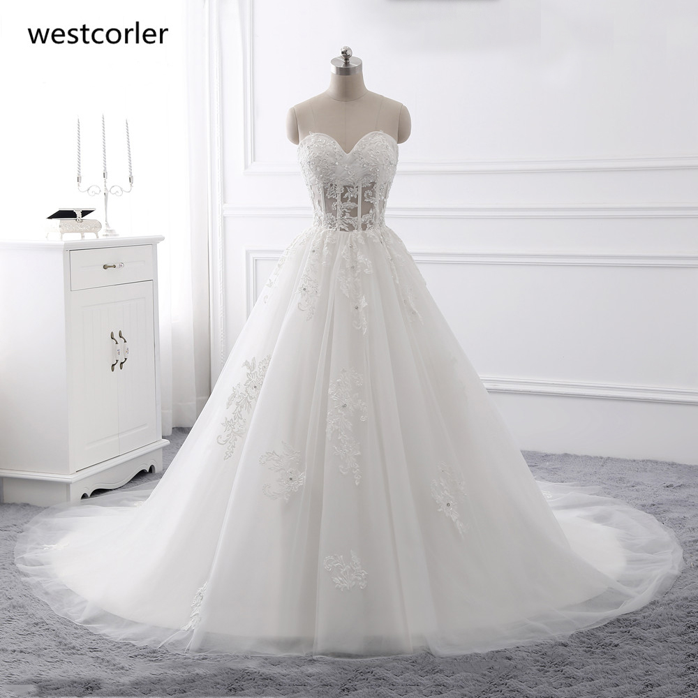 Champagne Color Wedding Dresses Vestidos De Noiva 2017: Beautiful Champagne/Ivory Wedding Dresses 2018 With