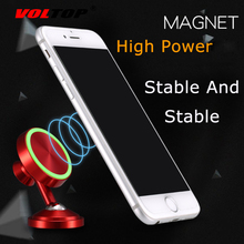 VOLTOP Luminous Magnetic Phone Holder Car Accessories Temporary Parking Number Plate Universal Mobile Phone Support Stand