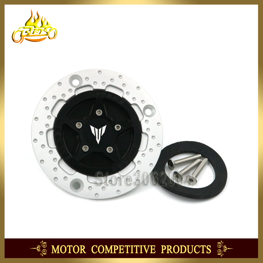Gas Fuel Tank Cap Cover Motorcycle For YAMAHA MT MT-01 MT-25 MT-03 MT-07 MT-09 MT-10 2005 - 2017 2016 2015 2014 2013 2012 CNC цена