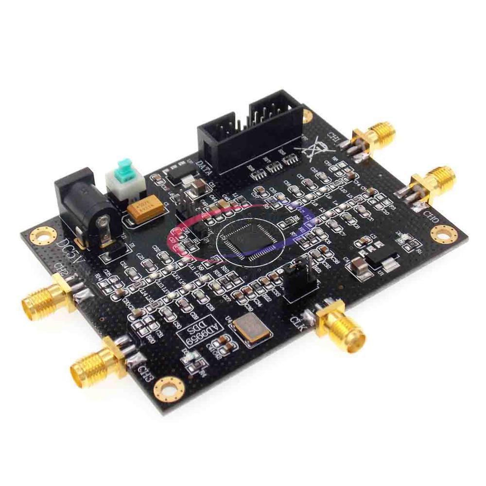 Source de Signal RF AD9959 générateur de Signal quatre canaux DDS Module Performance est beaucoup plus que AD9854 Kit d'outils 81x61mm