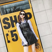 2018 New Fashion Genuine Sheep Leather Skirt G15