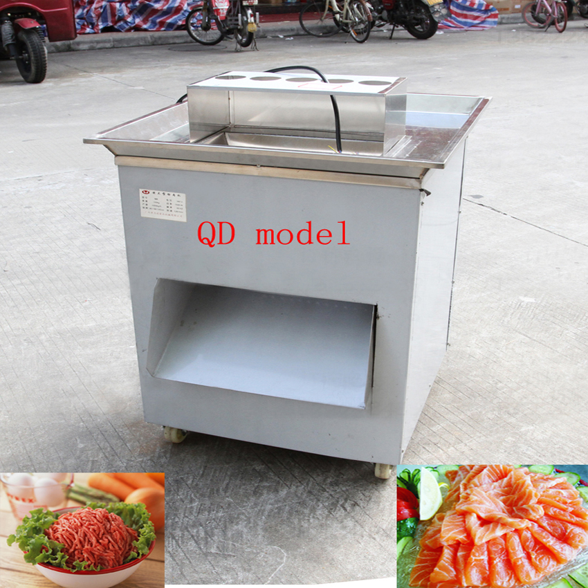 QD Vertical Type Meat Cutting Machine 1500KG/HR/ Shredded Kelp Cutter/ Meat Cutter ,Stainless Steel Meat Slicer 1