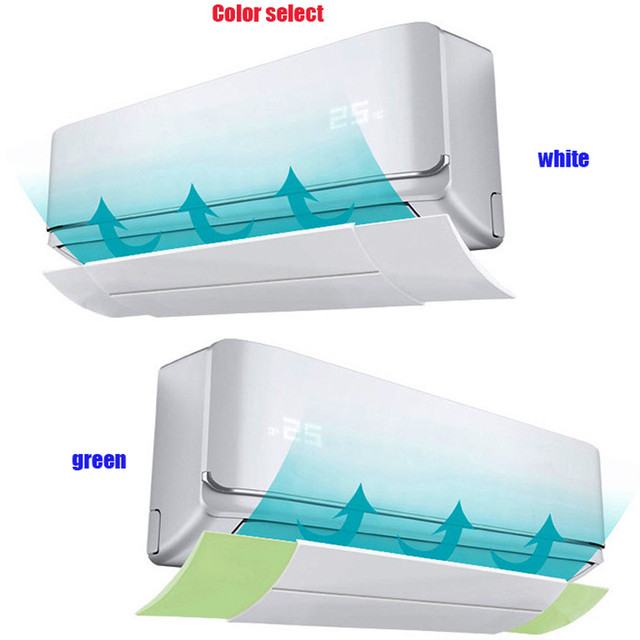 b6c6ccc1b Brisa de ar condicionado ar condicionado defletor escudo anti-vento escudo