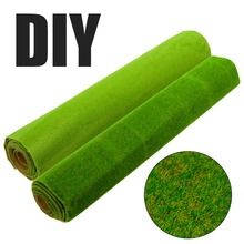 25x25 см миниатюрный искусственный травяной газон ландшафтный дизайн DIY орнамент украшение сада, двора