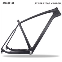 MIRACLE 27.5er Carbon MTB Frame UD weave SUPER LIGHT t1000 Carbon fiber frameset 27.5er Carbon mountain bike frame