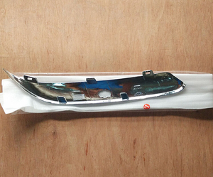 Image 5 - Sktoo 크라이슬러 300c 헤드 라이트 앞 범퍼 트림 패널 대형 조명 보드 밝은 스트라이프 범퍼 300c 액세서리