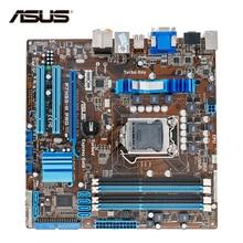 Asus P7H55-M PRO Original Gebrauchte Desktop-Motherboard H55 Sockel LGA 1156 i3 i5 i7 DDR3 16G HDMI DVI VGA Auf verkauf