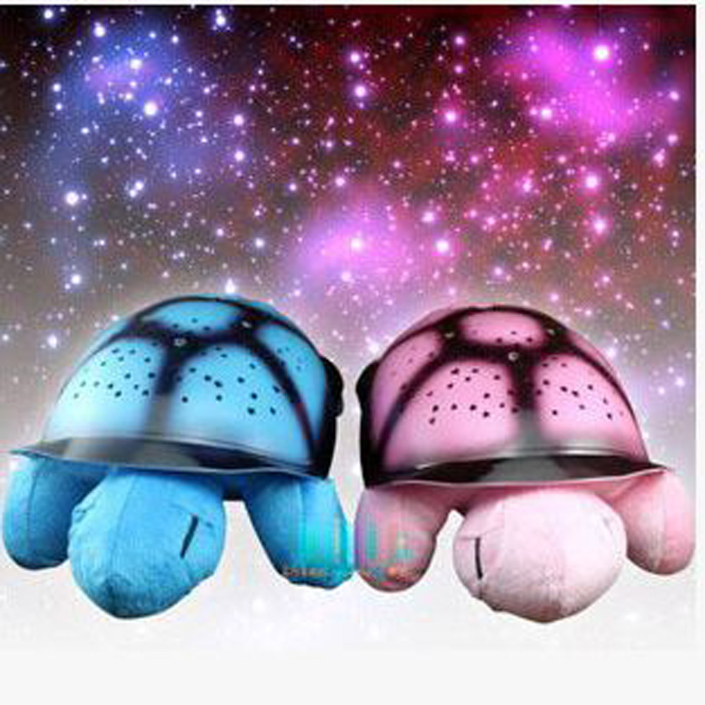 Buy Novelty Turtle Star Night Light Music Light For Baby Sleeping Decorative