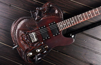 ATL Carved Dragon Slayer Style Electric Guitar With Mahogany Body Rosewood Fingerboard 22 Fret