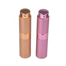 MUB – Fashion (2pcs/lot) Whirling Travel Mini Spray Perfume Bottles 8ml Empty Refillable Perfume Atomizer With Women