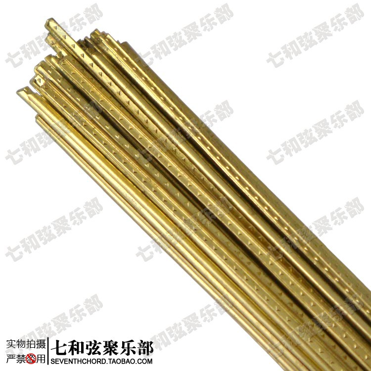 ФОТО SY-003 Classical guitar brass frets/straight wood guitar frets/finger plate scale lines
