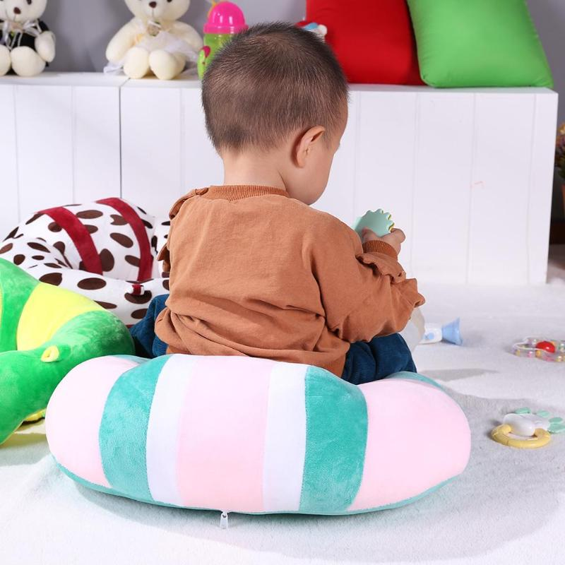 Baby Support Seat Plush Soft Baby Sofa Infant Learning To Sit Chair Keep Sitting Posture Comfortable For 0-2Y Baby Drop Shipping