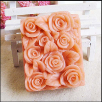 Çiçek Gül El Yapımı Sabun Kalıp Silikon Sabun Kalıp Diy Craft Kalıpları Bırakır