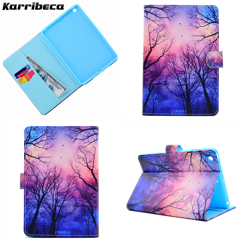 Flower butterfly Magnet PU leather case for iPad mini 1/mini 2/mini 3 tablet cover hoesje coque kryt etui funda puzdra carcasa for ipad mini