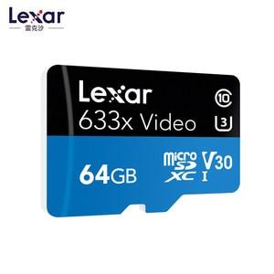 Image 3 - プロモーション!!! 16 ギガバイト 32 ギガバイトレキサーマイクロ SD Sdhc メモリーカード高速 64 ギガバイト 128 ギガバイトのマイクロ SDXC カード TF カード Class10 633 × 95 M/s