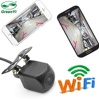 GreenYi 10pcs Vehicle WIFI Reversing Camera Star Night Vision Car Rear View Camera Mini Body Tachograph for iPhone and Android