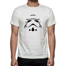 Mens Retro STAR WARS STORM TROOPER T-shirt Up to 5XL FREE UK POST Free shipping  Harajuku Tops   Classic Unique T Shirt цены