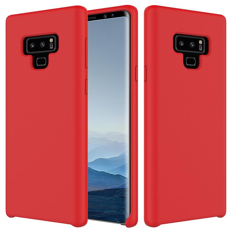 For Samsung Galaxy S8 note 9 note8 Case Silicone Built-in microfiber Shell Soft Cover Galaxy S8 Plus note9 Back Cover cases