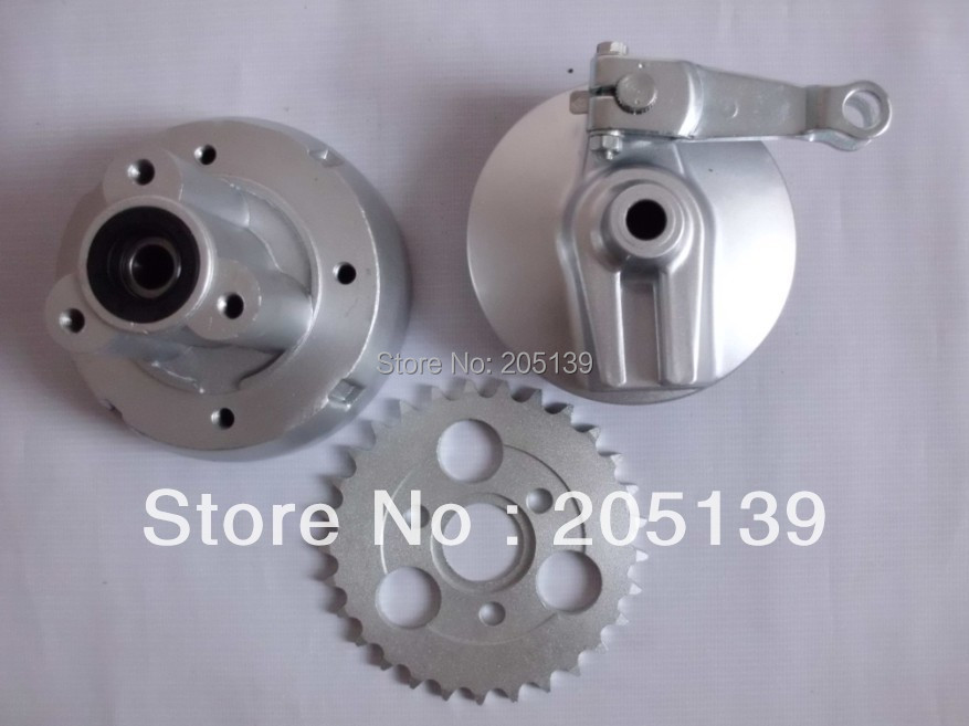NEW Z50 REAR RIMS WHEEL HUB & BRAKE COVER & 29 T gear SPROCKET 402 FOR MOTORCYCLE DIRT PIT MONKEY BIKE Z50 PARTS 428h chain rear sprocket 37 tooth 58mm diameter for crf50 xr50 dirt pit bike motorcycle motocross 428 gear fit 10inch rear wheel