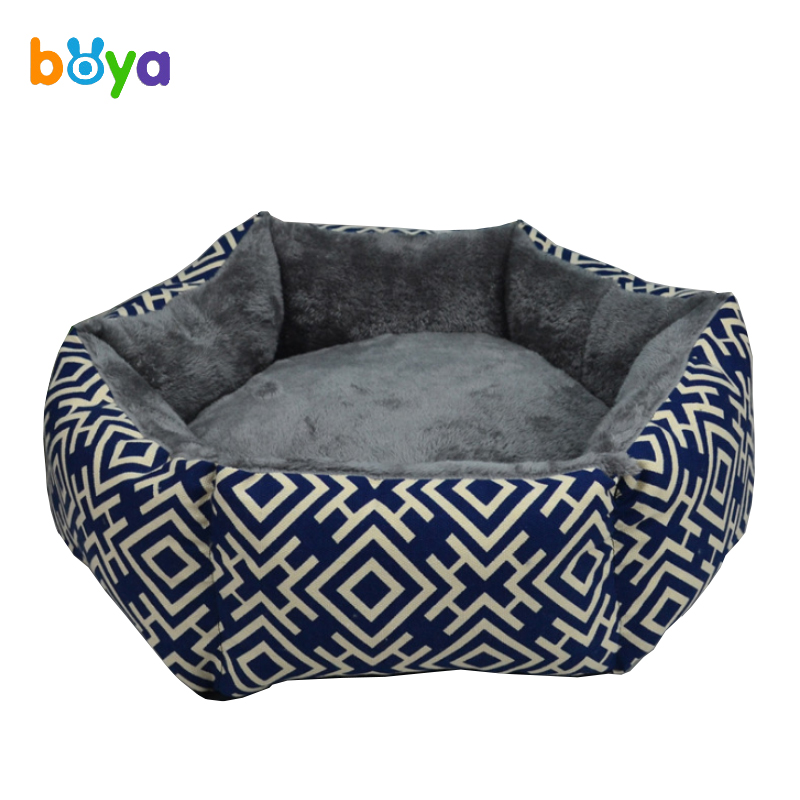 Boya New Washable Kennel Super Soft Winter Warm Small Medium Large Dogs Cats House Bed Pet Products Cama Perro