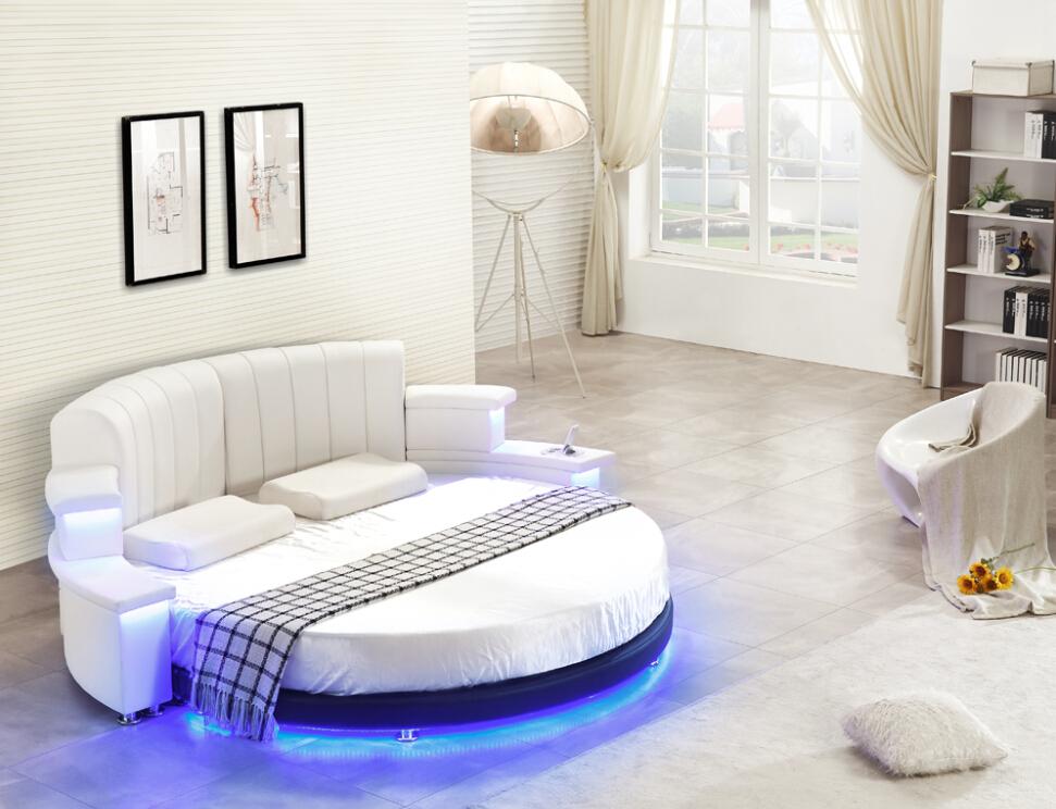 online get cheap runde schlafzimmer möbel -aliexpress.com ... - Lederbett Modern Schlafzimmer