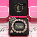 JC purchasing powder crystal natural stone Peach Blossom Hand string female Bracelet