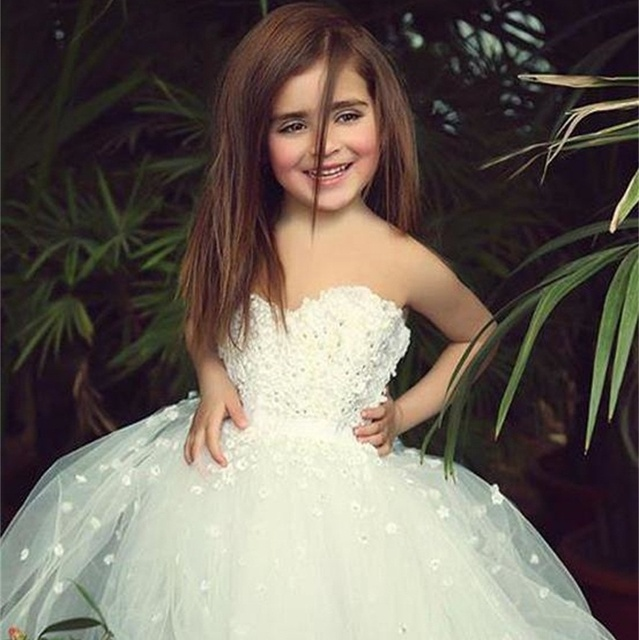 6384201825a2f Long Flower Girl Dresses Beautiful Communion Dresses Baby Party Frocks  Aplliqued Beaded Girl Special Occasion Dresses 160526003