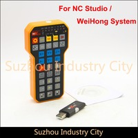 CNC Handwheel NC Studio USB Wireless Remote Handle 3 Axis CNC Controller For CNC Router Engraving