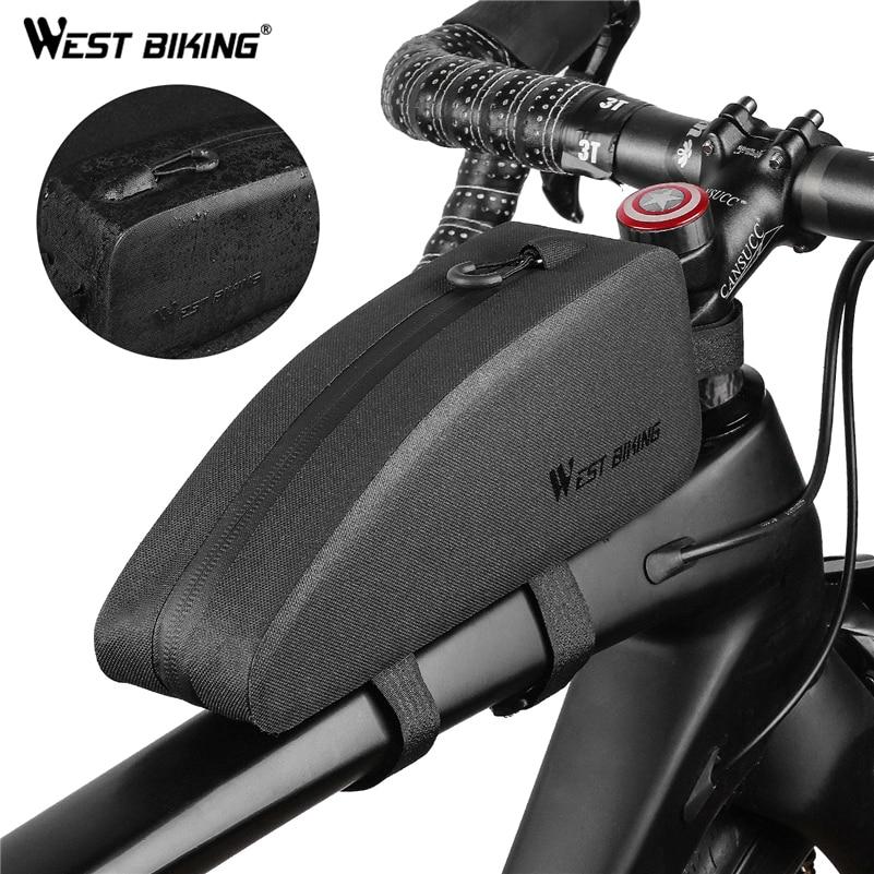 Mountain Bike Hard Shell Triangle Package Road Bike Kit Bicycle Front Beam Bag K