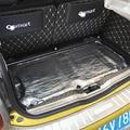 Для смарт-451 Smart 453 fortwo frorfour автомобиля Стекло волокна звукоизоляция с тройной защитой из вспененного автомобиля капот брандмауэр тепла ковр...