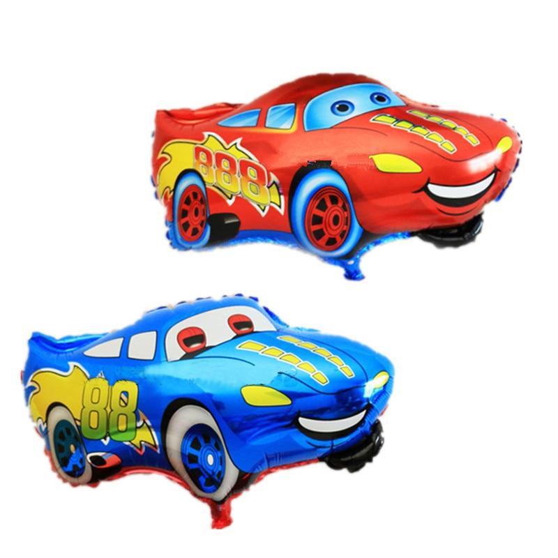Нови 1 ком / велико велепродаја дечије играчке алуминијумски балони рођендан балони велепродаја аутомобилски стилинг