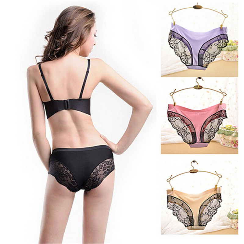 LY710 2016 New Arrival Plus Size Underwear Women Sexy Lace Panties Victoria Lingerie
