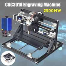 CNC3018 3 AXIS Router Spindle Engraver Mini CNC Router DIY Penggiling Kayu Ukiran Laser Engraving Mesin + 2500 MW Laser kepala(China)
