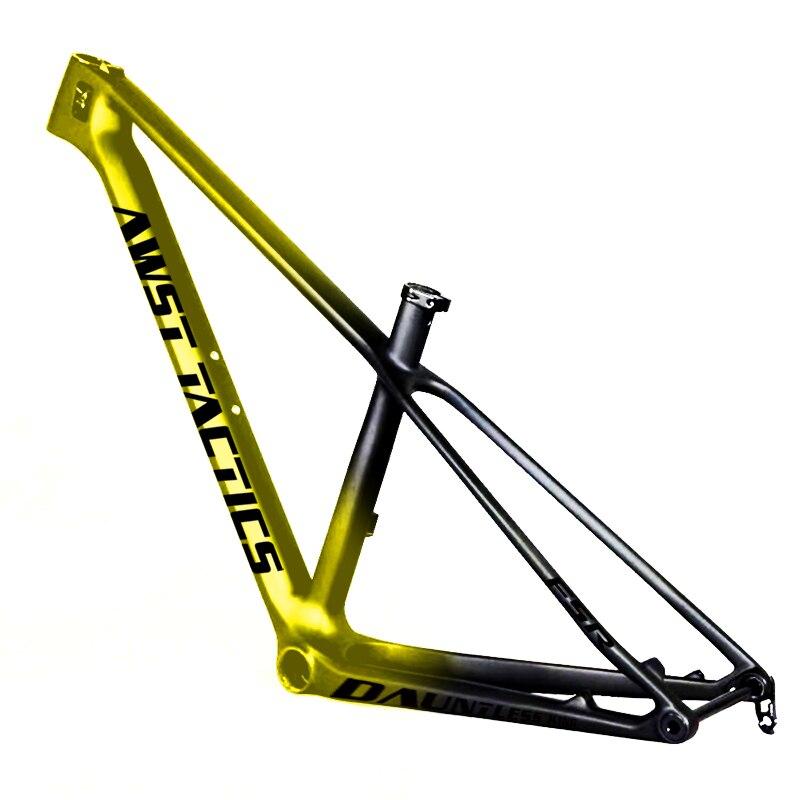 SLX MTB Bike Frame 29er XC 142 * 12mm Rear Spacing T1000 27.5 Carbon Fiber Frame Cycling Bicycle Frameset Super Light 950g