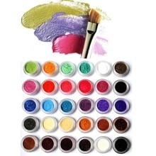 1 Box 10 Grams Pearl Nail Pigment Powder 54 Colors New Glitters Mirror Effect Art Chrome Decoration DFA-81#