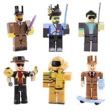 6pcs/set Games 7cm PVC Juguetes Anime Cartoon Figure Action Toys For Children #E