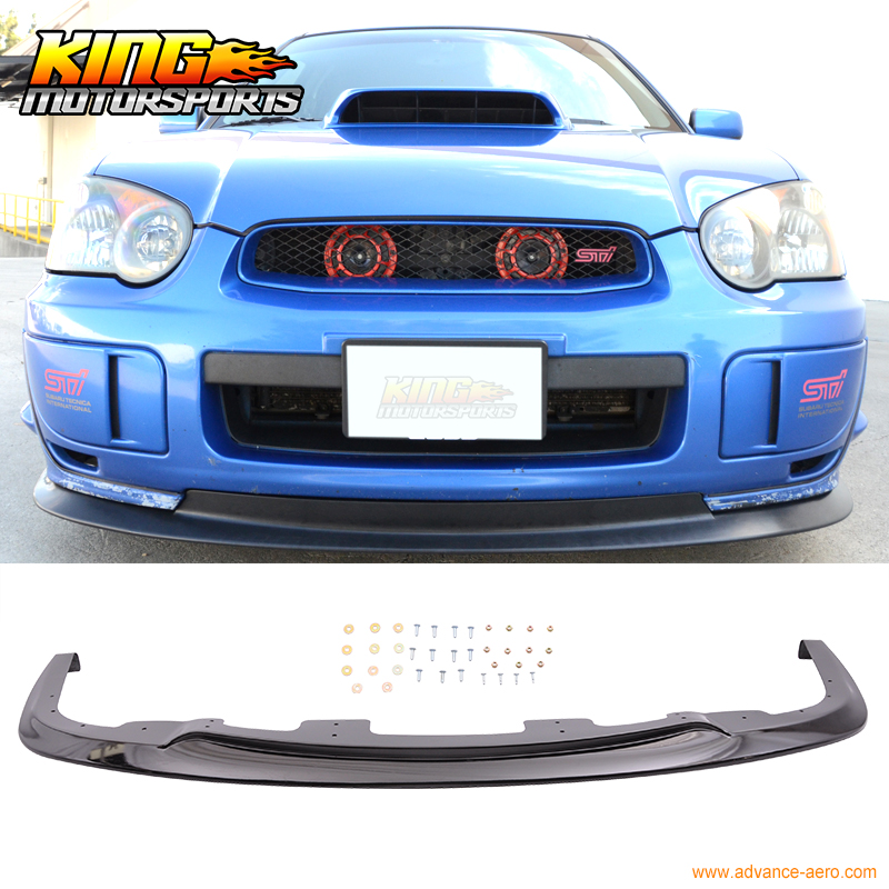 Fit for 2004 2005 Subaru Impreza WRX STI V-Limited Front Bumper Lip PP Spoiler subaru impreza wrx sti самара продаю
