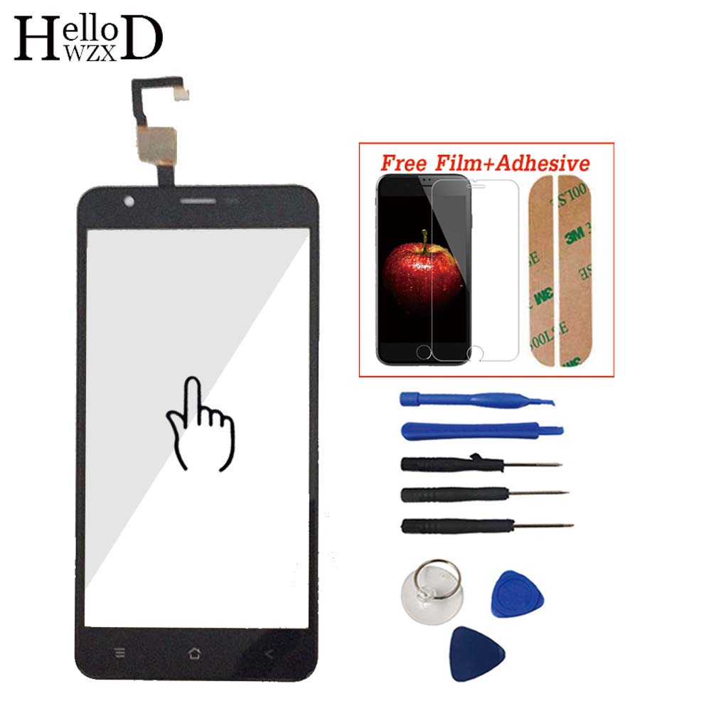 For Blackview E7 E7S Touch Screen Sreen Glass Digitizer Panel Mobile Lens Sensor Flex Cable Tools Adhesive Screen Protector Gift