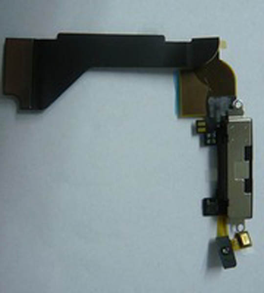 Original Black Dock Connector Charger Charging Flex Cable Replacement Parts For iPhone 4 4G FC_iPhone4_Charger_Black