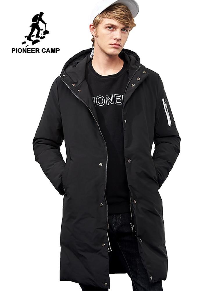 파이어 니어 캠프 방수 따뜻한 겨울 자켓 남자 브랜드 의류 긴 두꺼운 코트 남성 품질 후드 파커 남성 amf705299-에서파카부터 남성 의류 의  그룹 1