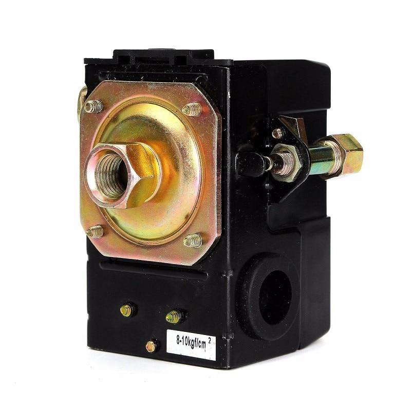 135-175PSI Heavy Duty 12V Air Compressor Pressure Switch Single Port Machine 26A High Quality ac240v 20a 175psi 12mm female thread 1 port 2nc air compressor pressure switch