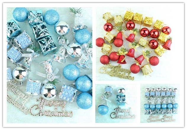 32pcs christmas decorations for home decorazione natale for Decoraciones de navidad para el hogar