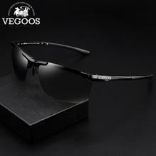VEGOOS Sports Sunglasses for Men Polarized Driving UV400 Protection Sun Glasses Lightweight Al-Mg Frame  Sunglass #8068