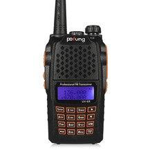 BaoFeng UV-6R Portable radio Walkie Talkie UV6R Two Way Radio 5W 128CH UHF/VHF Dual Band Handled Transceiver with free headset