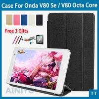 Newset High Quality Fashion Case Cover For Onda V80 SE V80 Octa Core Free Shipping