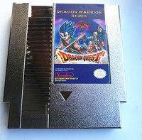 실버 드래곤 전사 리믹스 9 NES 1 게임 카트리지, 드래곤 전사. II. III IV, 드래곤 퀘스트. II. III IV