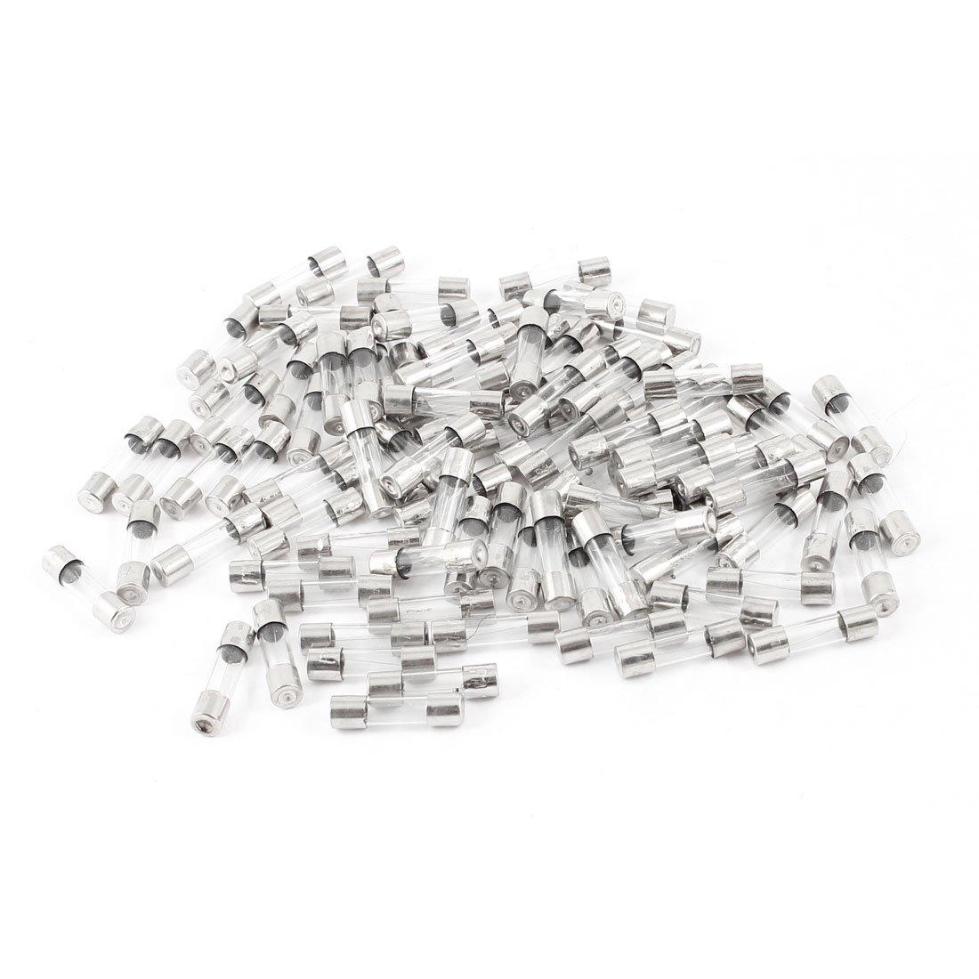 100 Pcs 5x20 Fast Blow Glass Fuse 5mm x 20mm 250V Fast Blow Fuses