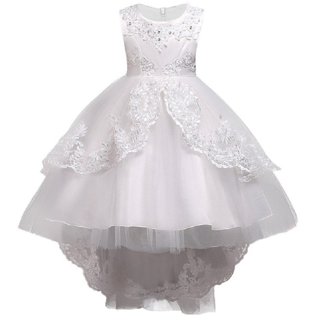 Flower Girl Dresses Wedding Easter Junior Bridesmaid Princess Girl ...